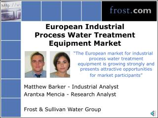 European Industrial Process Water Treatment Equipment Market