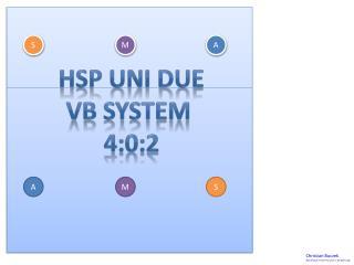 HSP Uni  DuE VB System  4:0:2
