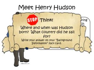 Meet Henry Hudson
