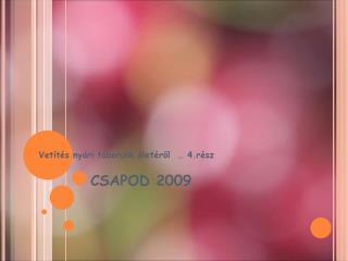 CSAPOD 2009