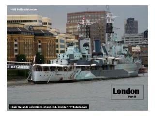 HMS Belfast Museum