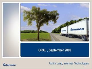 Achim Lang, Intermec Technologies