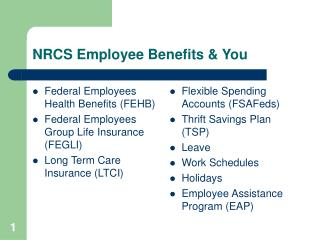 NRCS Employee Benefits & You
