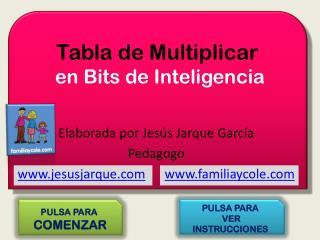 Tabla de Multiplicar  en Bits de Inteligencia