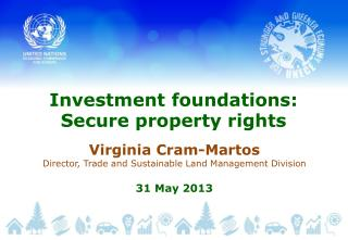 Investment  foundations:  Secure  property rights