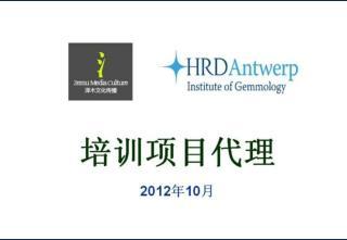 HRD Antwerp 认证钻石分级师