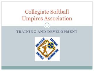 Collegiate Softball Umpires Association