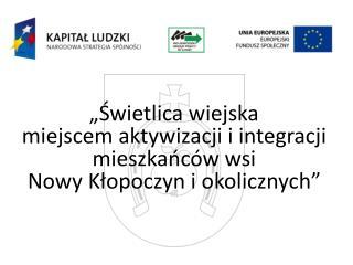Instytucja pośrednicząca 2 stopnia - Wojewódzki Urząd Pracy w Łodzi
