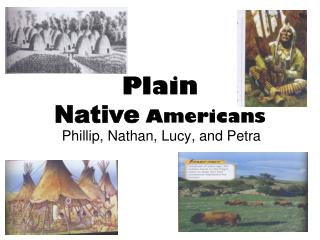 Plain Native  Americans