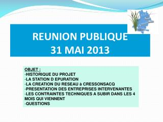 REUNION PUBLIQUE 31 MAI 2013