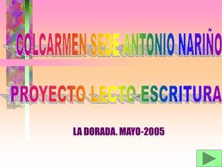 LA DORADA. MAYO-2005