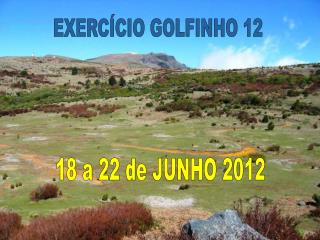 18 a 22 de JUNHO 2012