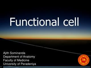 Functional cell