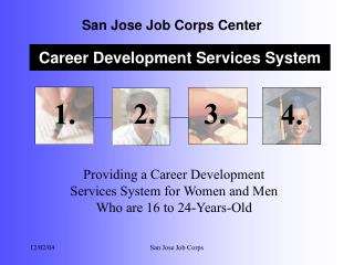 Providing a Career Development  Services System for Women and Men  Who are 16 to 24-Years-Old