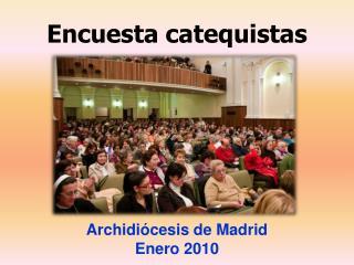 Encuesta catequistas
