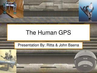 The Human GPS