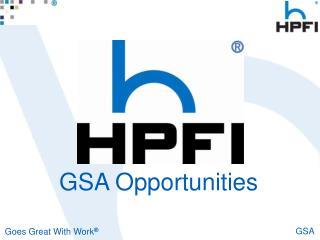 GSA Opportunities