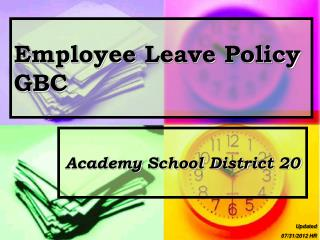Employee  Leave  Policy  GBC