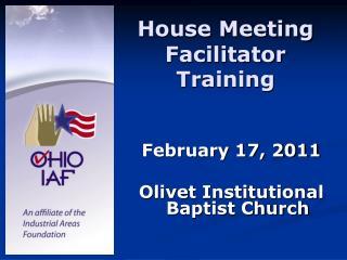 House Meeting Facilitator Training