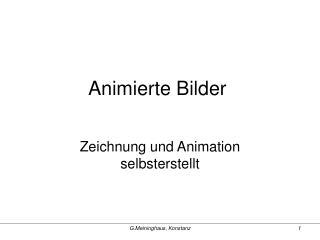 Animierte Bilder