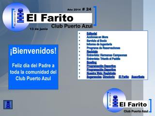 Editorial Acciones  en Mora Servicio al Socio Informe de Ingeniería Programa de Reservaciones