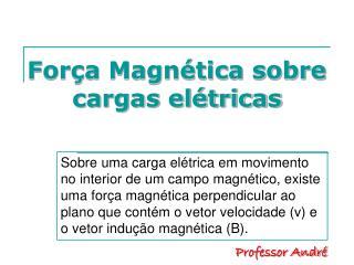Força Magnética sobre cargas elétricas