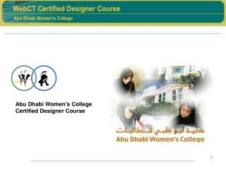Abu Dhabi Women's College Certified Designer Course