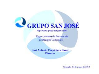 Departamento de Prevención                  de Riesgos Laborales