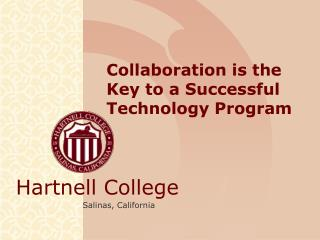 Collaboration is the Key to a Successful Technology Program