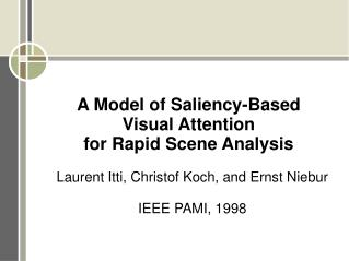 What is Saliency