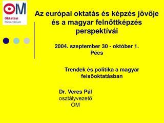 Trendek és politika a magyar felsőoktatásban