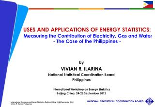USES AND APPLICATIONS OF ENERGY STATISTICS: