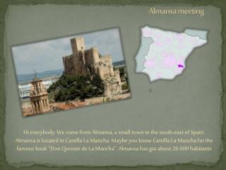 Almansa meeting
