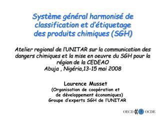 Laurence Musset (Organisation de  coopération  et          de  développement économiques )
