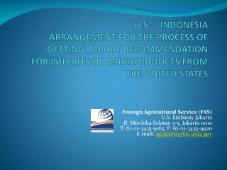 Indonesia Law 18 on Animal Health
