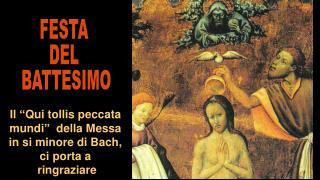 """Il """"Qui tollis peccata mundi""""  della Messa in si minore di Bach, ci porta a  ringraziare"""