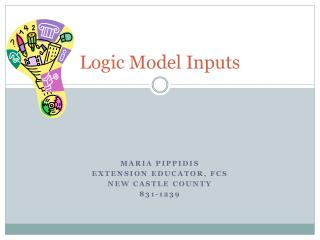 Logic Model Inputs