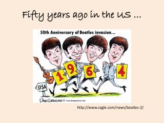 Fifty years ago  in the US …