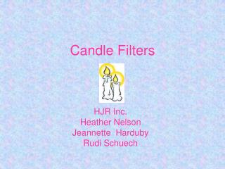 Candle Filters