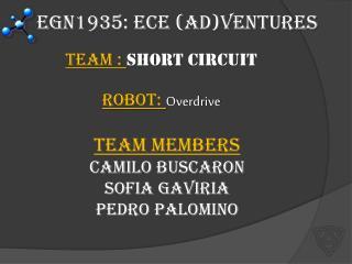 EGN1935: ECE (Ad)Ventures