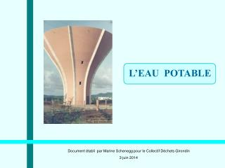 L�EAU  POTABLE