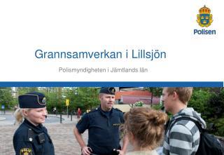 Polismyndigheten i Jämtlands län
