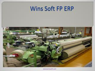 Wins Soft FP ERP