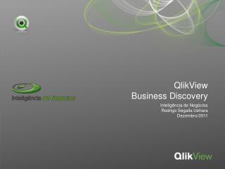 QlikView Business Discovery