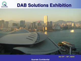 DAB Solutions Exhibition