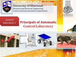 University Of Khartoum                             Electrical and Electronic Engineering