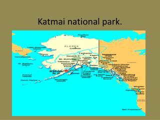 Katmai national park.
