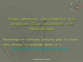 Cómo generar fácilmente tus propios Gifs animados con PhotoScape
