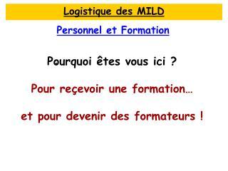 Personnel et Formation