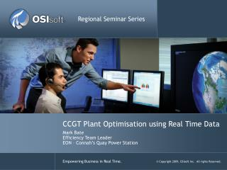 CCGT Plant Optimisation using Real Time Data